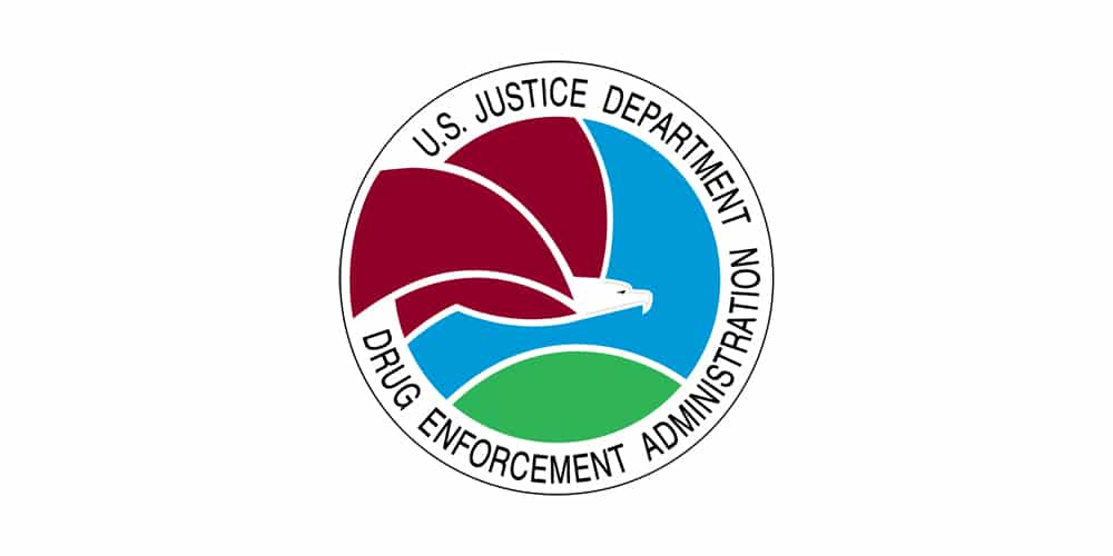 US Justice Department Drug Enforcement Administration Logo